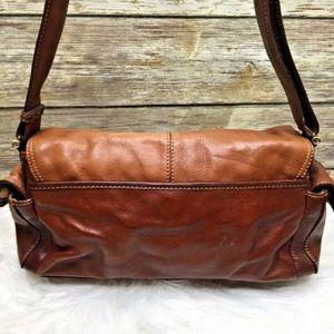 Liz Claiborne Bags - Liz Claiborne Brown Leather Purse Shoulder Bag